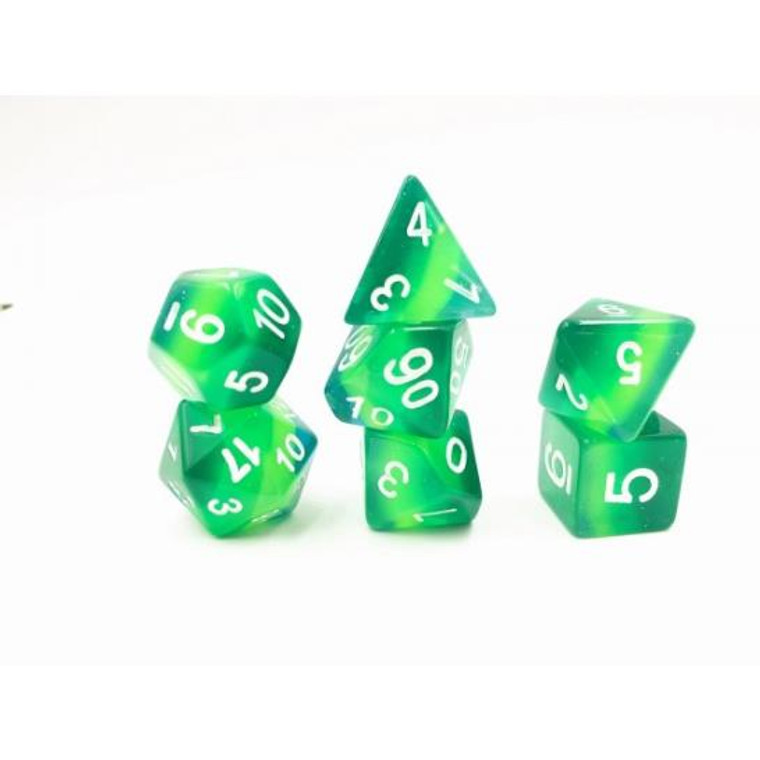 RCG Poly Layer Green Translucent  (White)