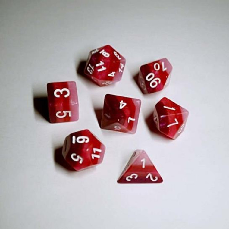 RCG Poly Red Gradients (White)
