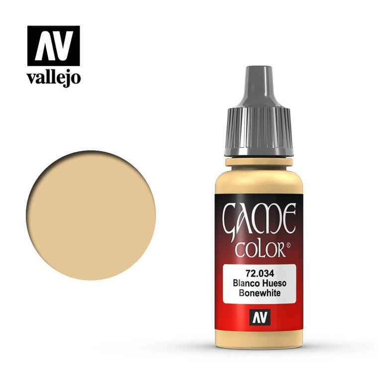 Vallejo Game Color Bone White Paint 72034