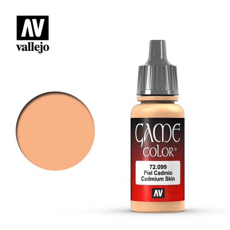 Vallejo Game Color Cadmium Skin Paint 72099