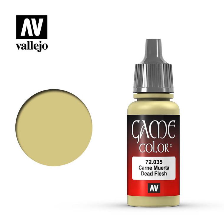 Vallejo Game Color Dead Flesh Paint 72035