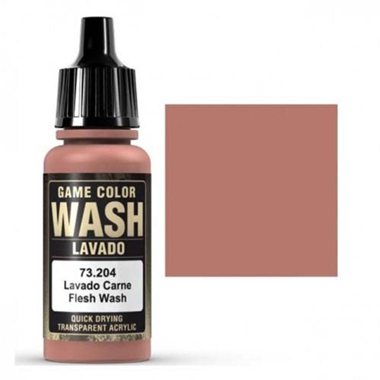 Vallejo Game Color Wash Flesh 73204