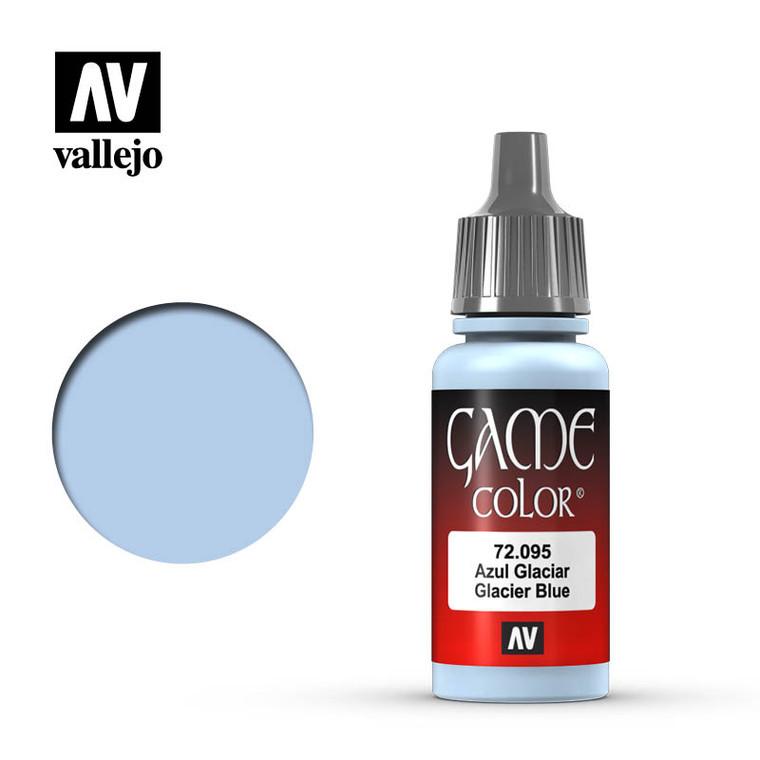 Vallejo Game Color Glacier Blue Paint 72095