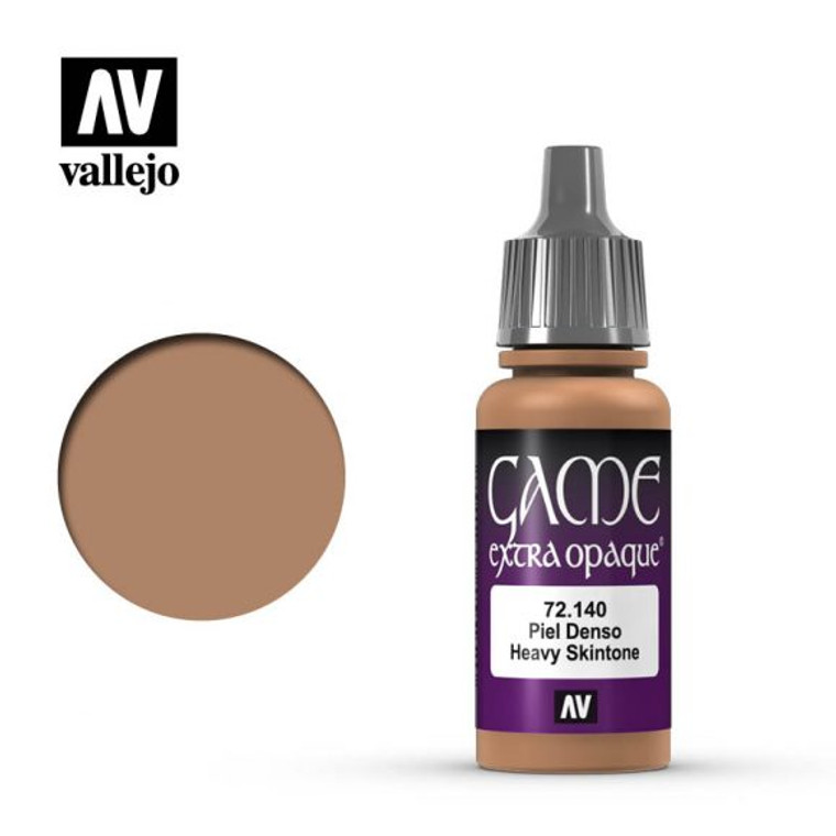 Vallejo Game Extra Opaque Heavy Skin Tone Paint 72140