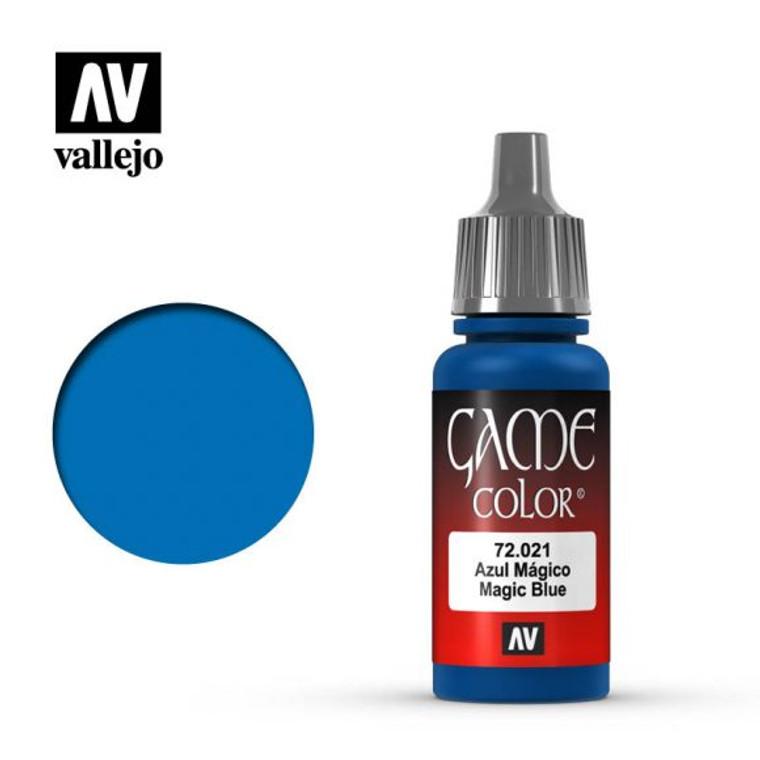 Vallejo Game Color Magic Blue Paint 72021