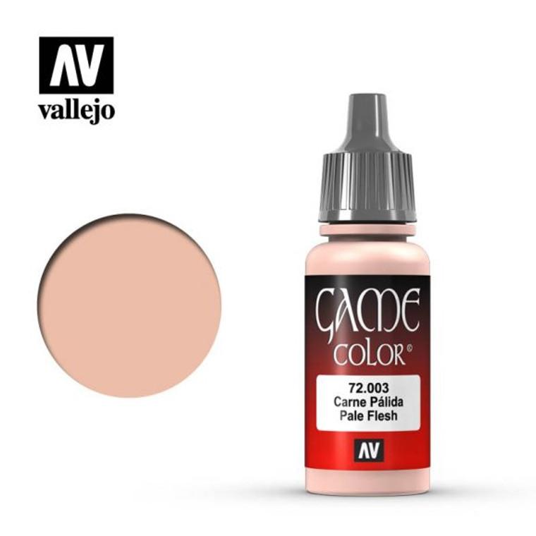 Vallejo Game Color Pale Flesh Paint 72003