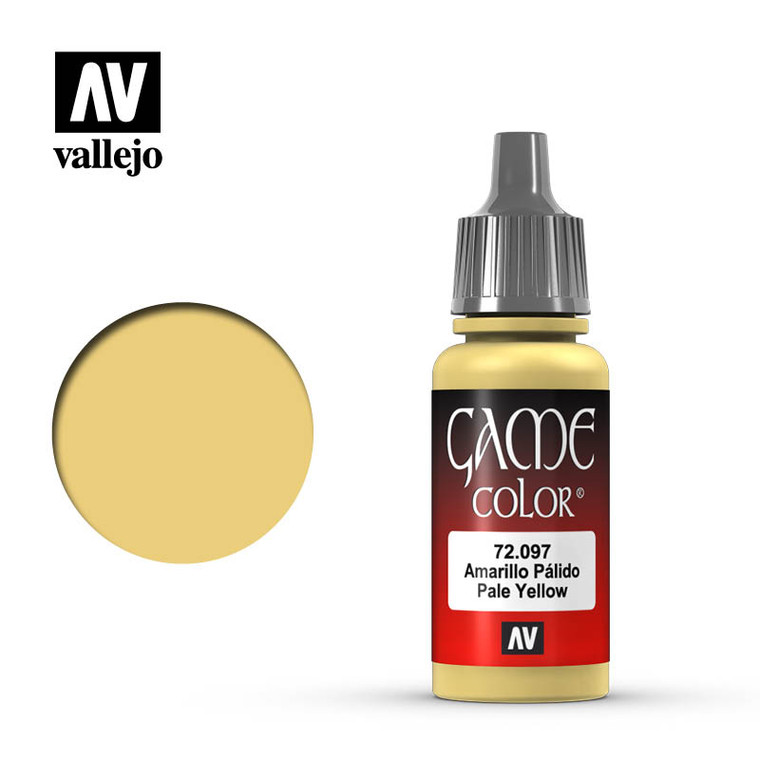 Vallejo Game Color Pale Yellow Paint 72097