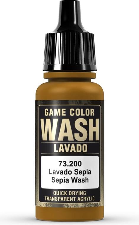 Vallejo Game Color Wash Sepia 73200