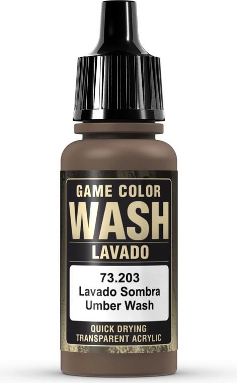 Vallejo Game Color Wash Umber 73203