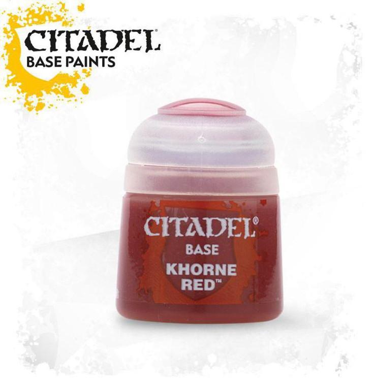 Citadel Base Khorne Red 21-04