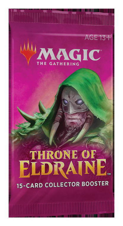 Throne of Eldraine Collector's Booster Pack