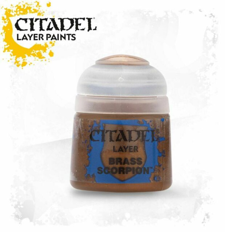 Citadel Layer Brass Scorpion 22-65