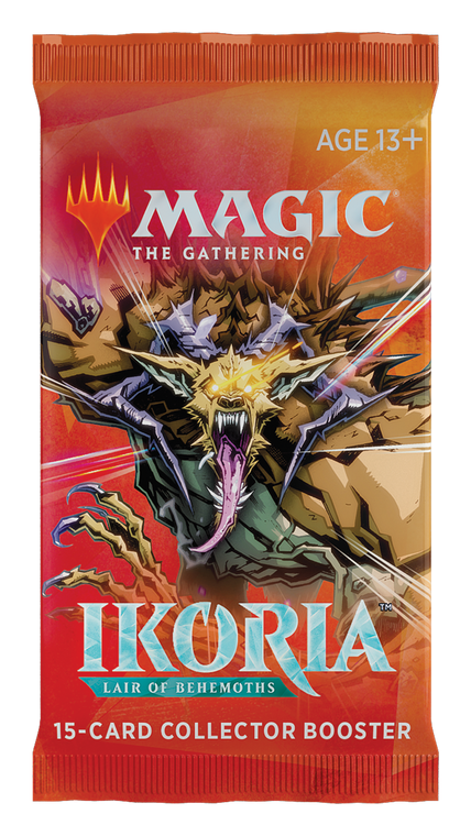 Ikoria Lair of Beasts Collector's Booster Pack Japanese