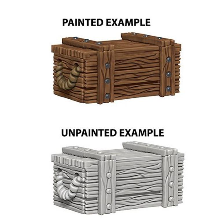 Unpainted T Crates DC 73090
