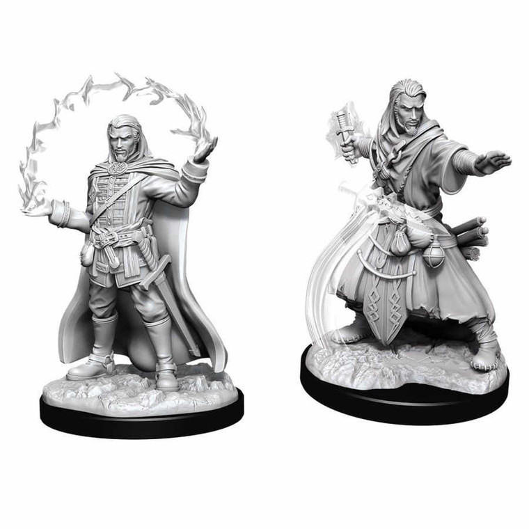 Unpainted PC Human Wizard Male NM 90011