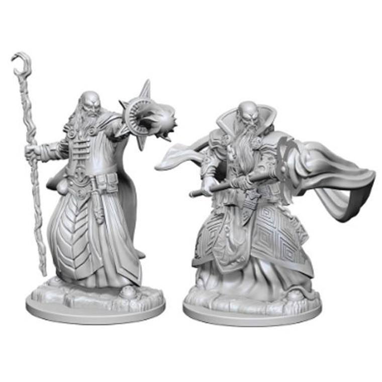 Unpainted PC Human Wizard Male NM 72618