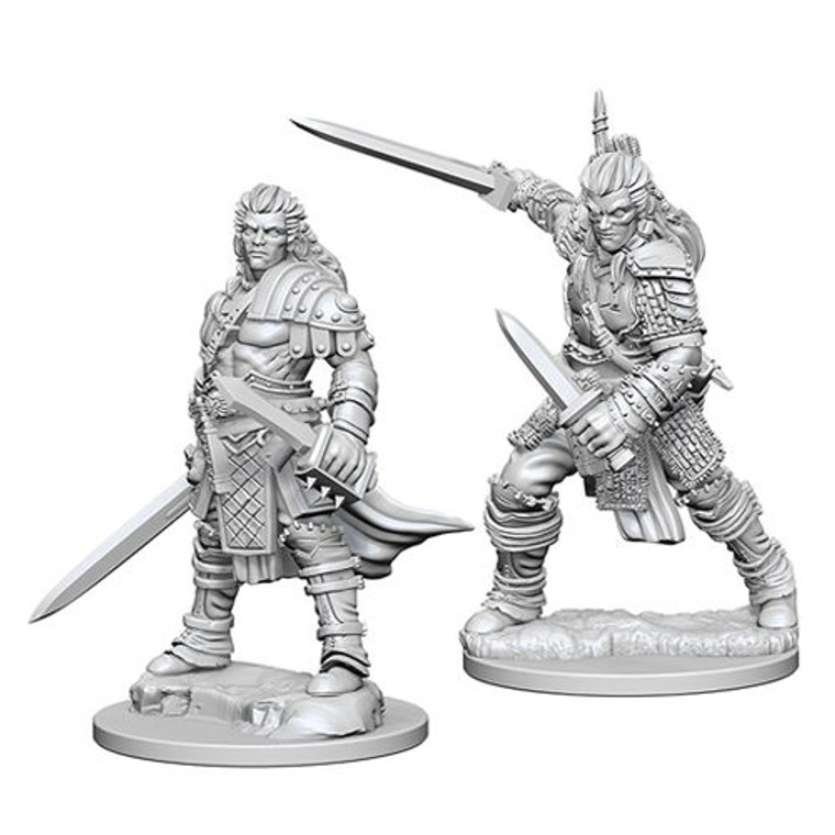 Unpainted PC Human Fighter Male DC 72596