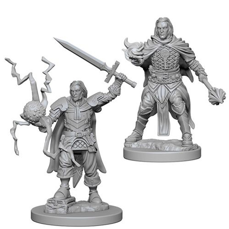 Unpainted PC Human Cleric Male DC 72600