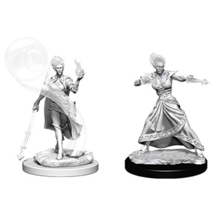 Unpainted PC Genasi Fire Wizard Female NM 73336