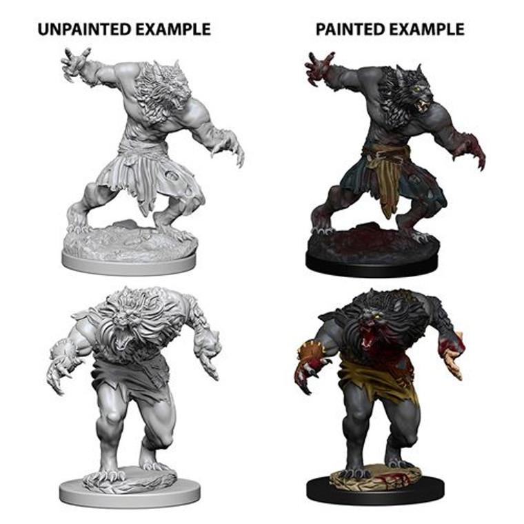 Unpainted NPC Werewolves NM 73194