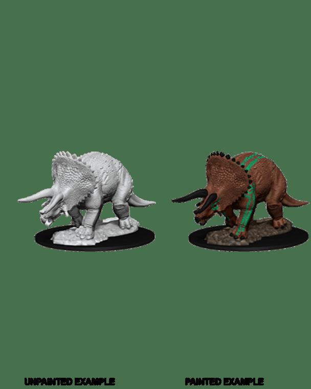 Unpainted NPC Triceratops NM 73533