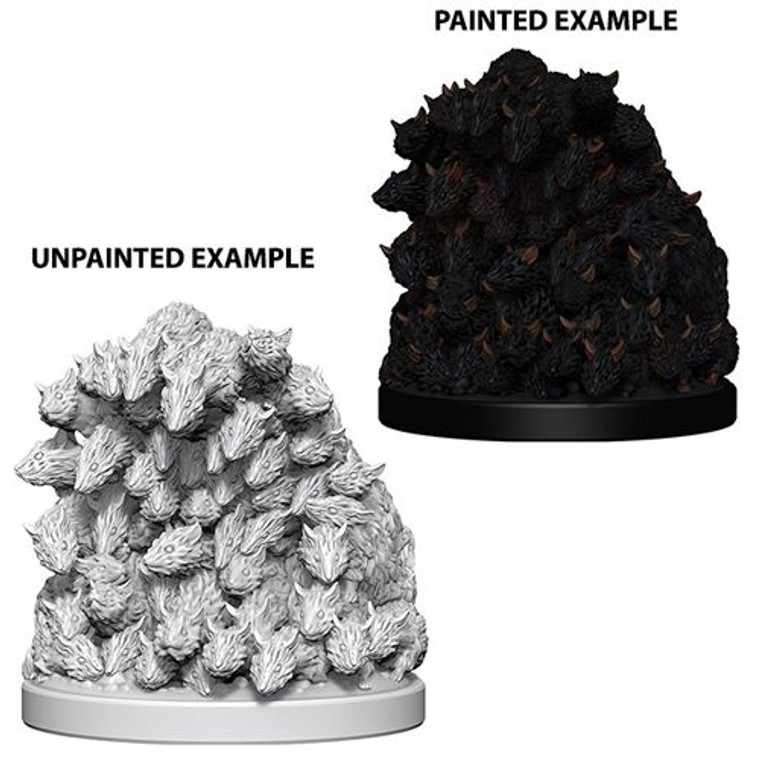 Unpainted NPC Rats, Swarm of DC 73089