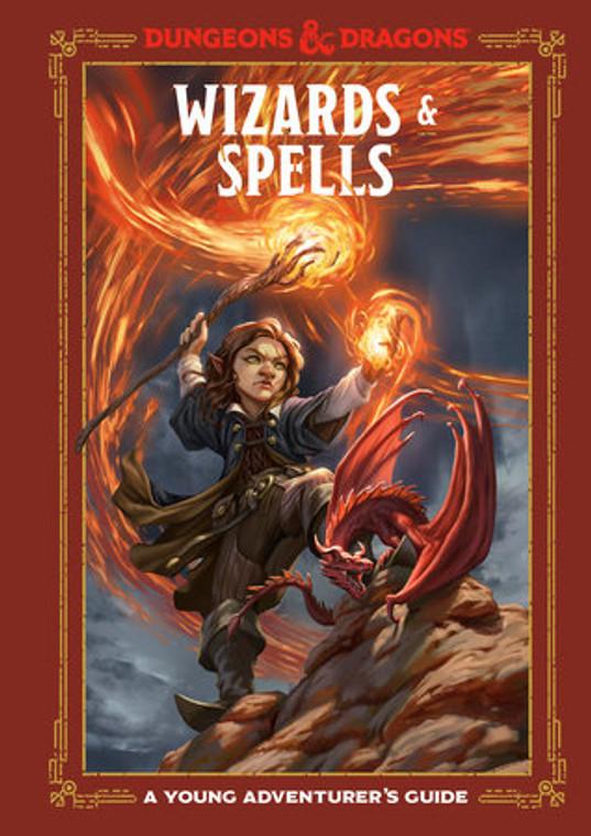 D&D A Young Adventurer's Guide Wizards & Spells