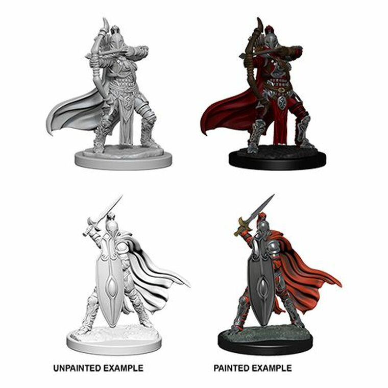 Unpainted NPC Knights Female / Gray Maidens DC 73425