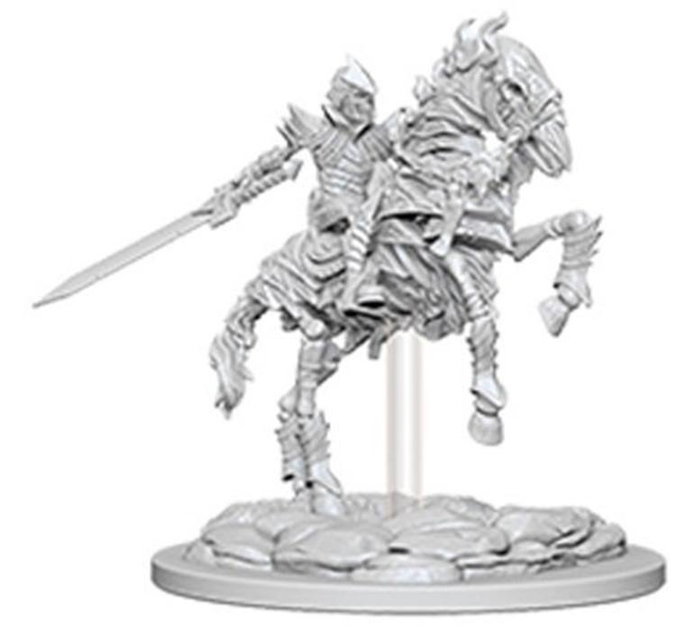 Unpainted NPC Knight, Skeleton on Horse DC 73359