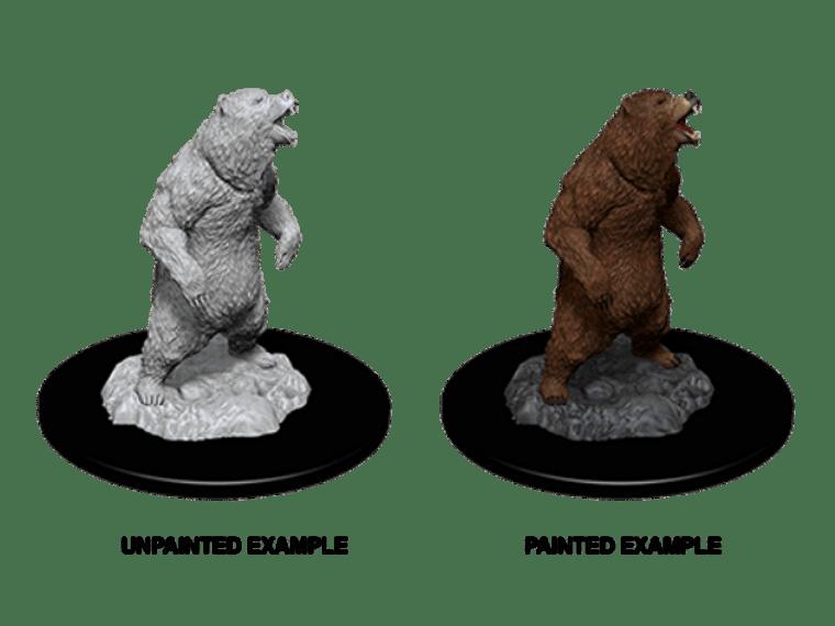 Unpainted NPC Bear, Grizzly DC 73551