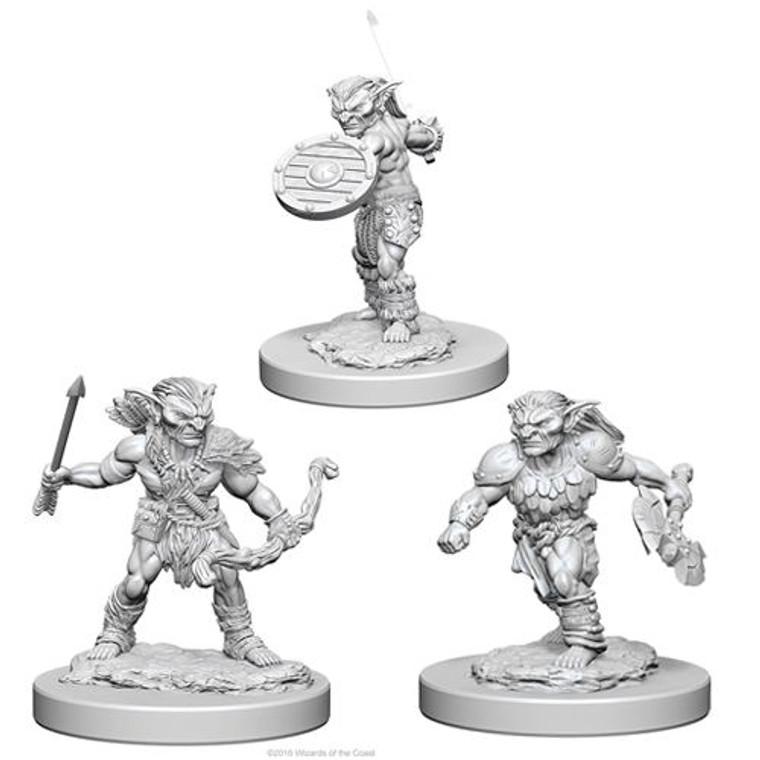 Unpainted NPC Goblins NM 72556