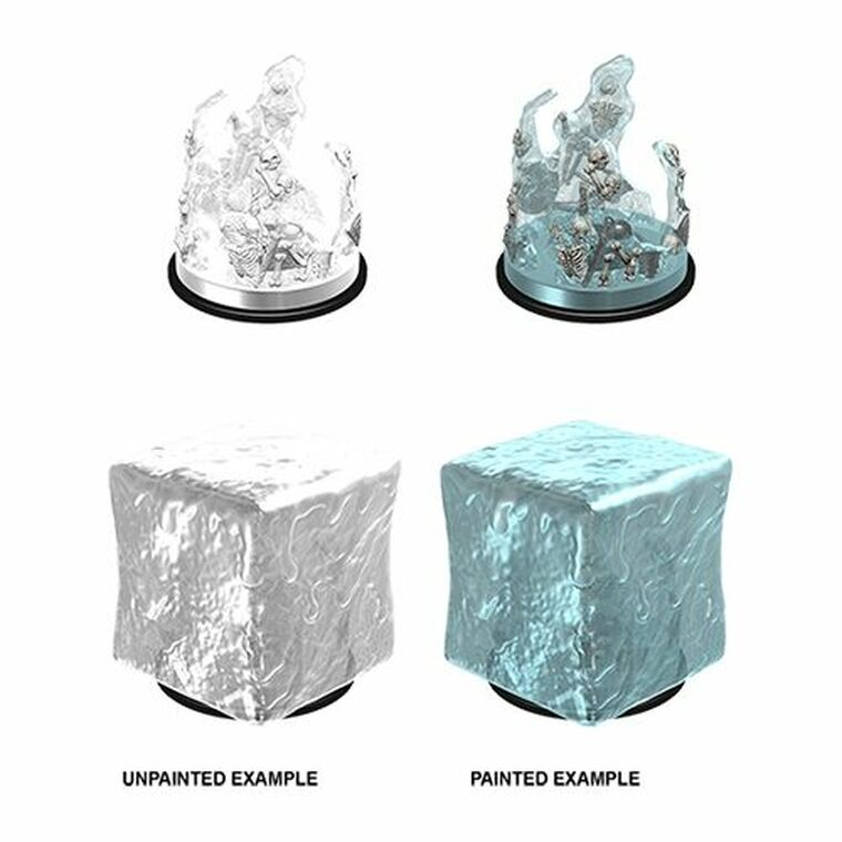 Unpainted NPC Gelatinous Cube NM 90196