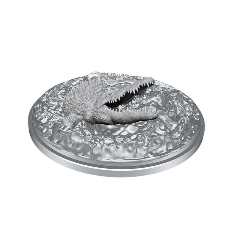 Unpainted NPC Crocodile NM 90051