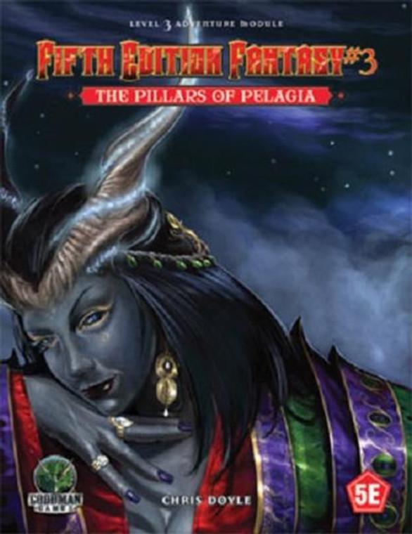 5E Fantasy #3 The Pillars of Pelagia