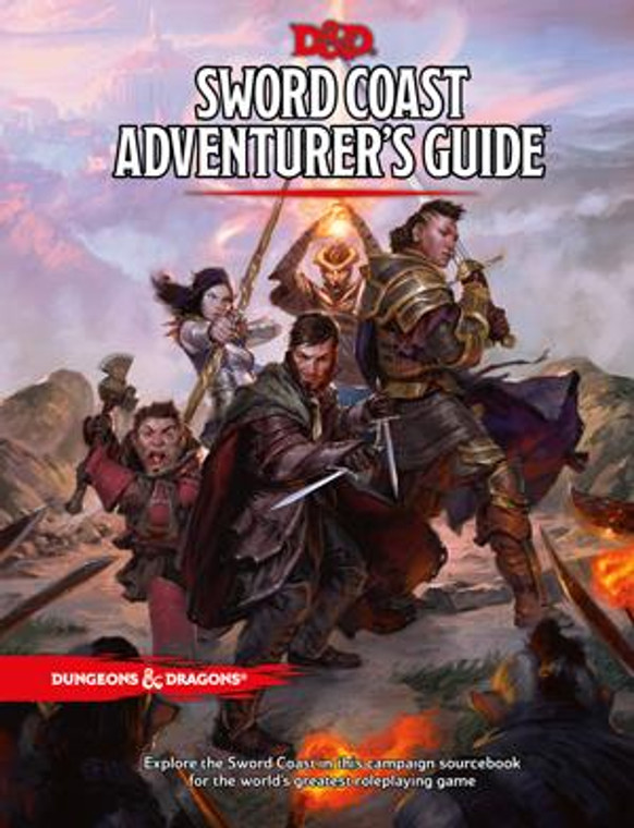 D&D 5E Sword Coast Adventurer's Guide