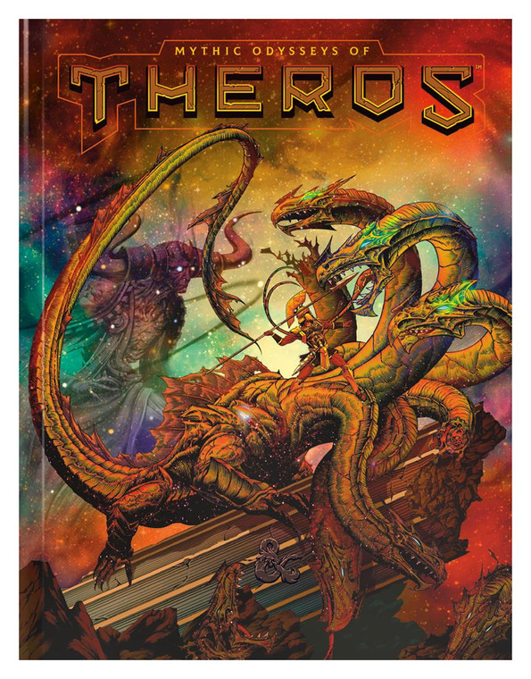 D&D 5E Mythic Odysseys of Theros Limited Edition