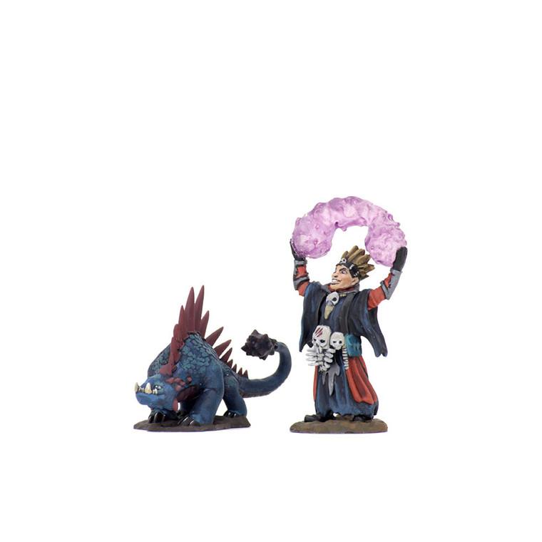 Wardlings: Boy Warlock & Lizard