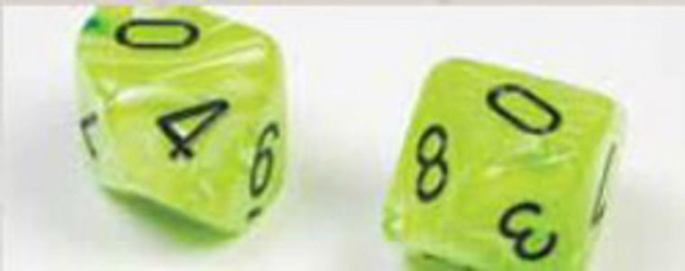 CHX Polyhedral Vortex Bright Green w/ Black 27430