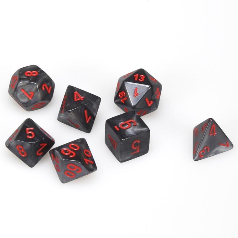 CHX Polyhedral Velvet Black w/ Red 27478