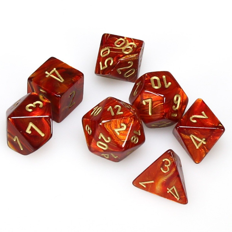 CHX Polyhedral Scarab Scarlet w/ Gold 27414