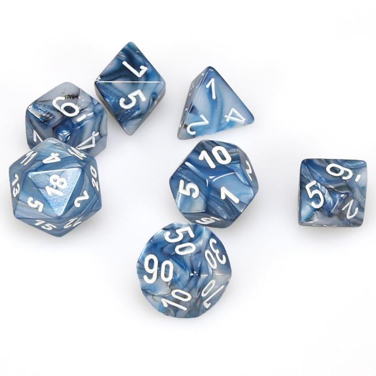 CHX Polyhedral Lustrous Slate w/White 27490