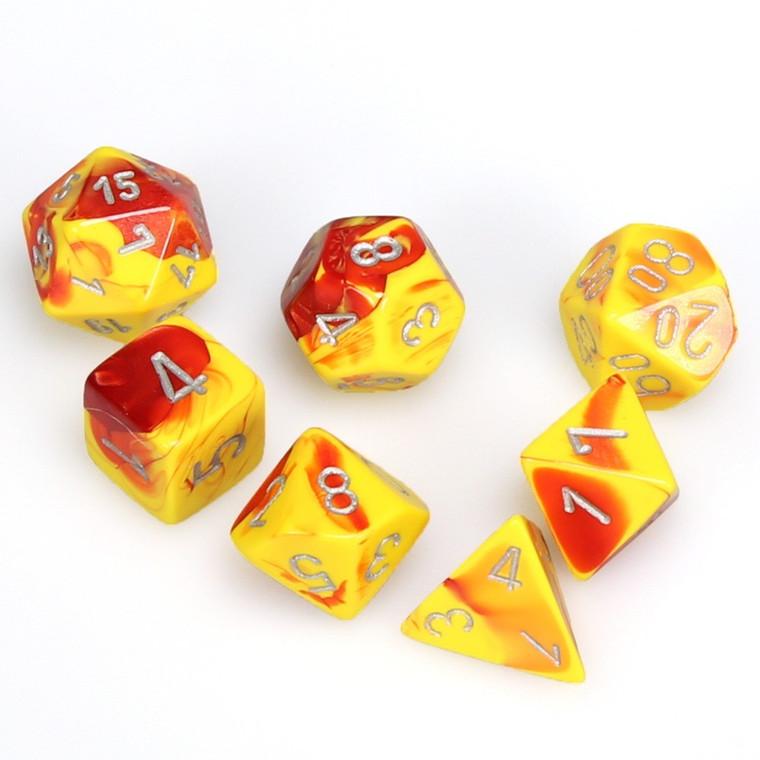CHX Polyhedral Gemini Red Yellow w/ Silver 26450