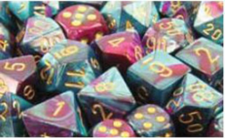 CHX Polyhedral Gemini Purple-Teal w/ Gold 26449