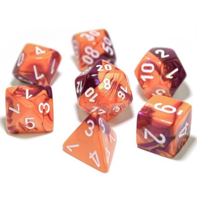CHX Polyhedral Gemini Orange/Purple/White 30021