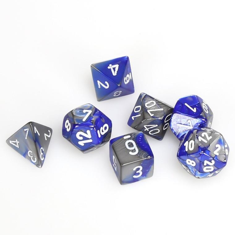 CHX Polyhedral Gemini Blue-Steel w/ White 26423