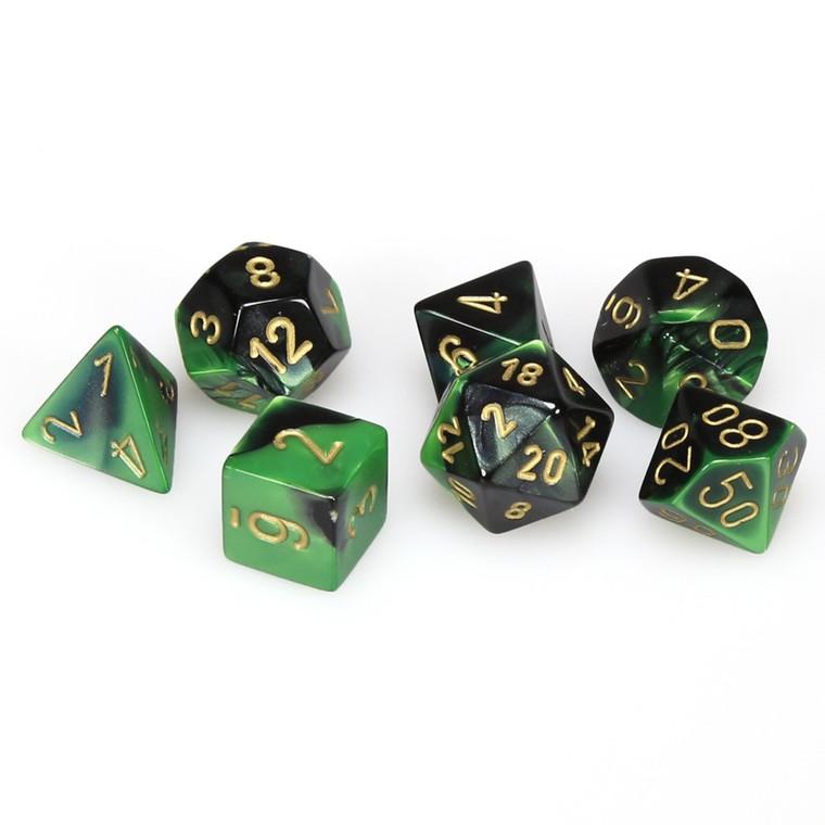 CHX Polyhedral Gemini Black-Green w/ Gold 26439