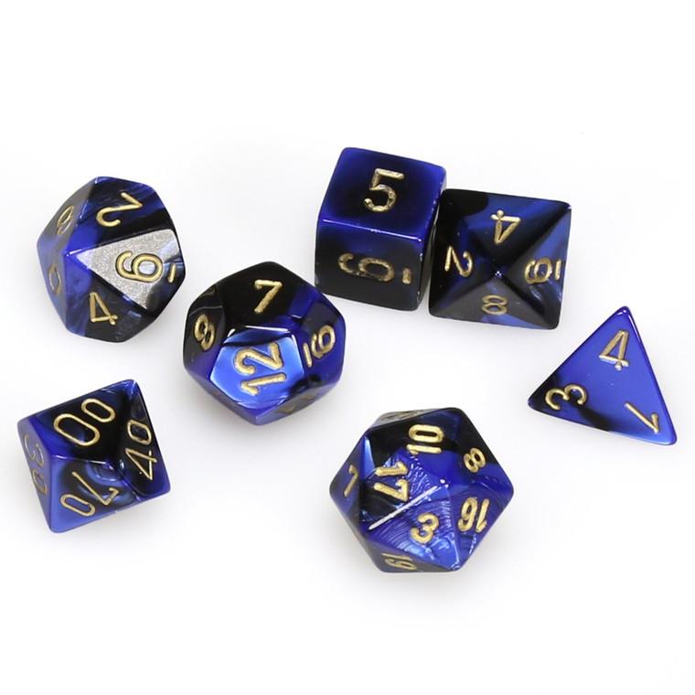 CHX Polyhedral Gemini Black-Blue w/ Gold 26435
