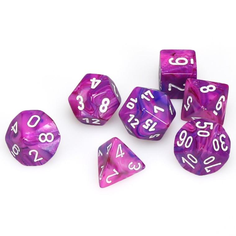 CHX Polyhedral Festive Violet w/ White
