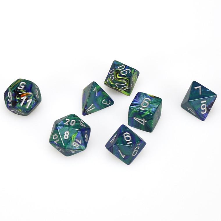 CHX Polyhedral Festive Green w/ Silver