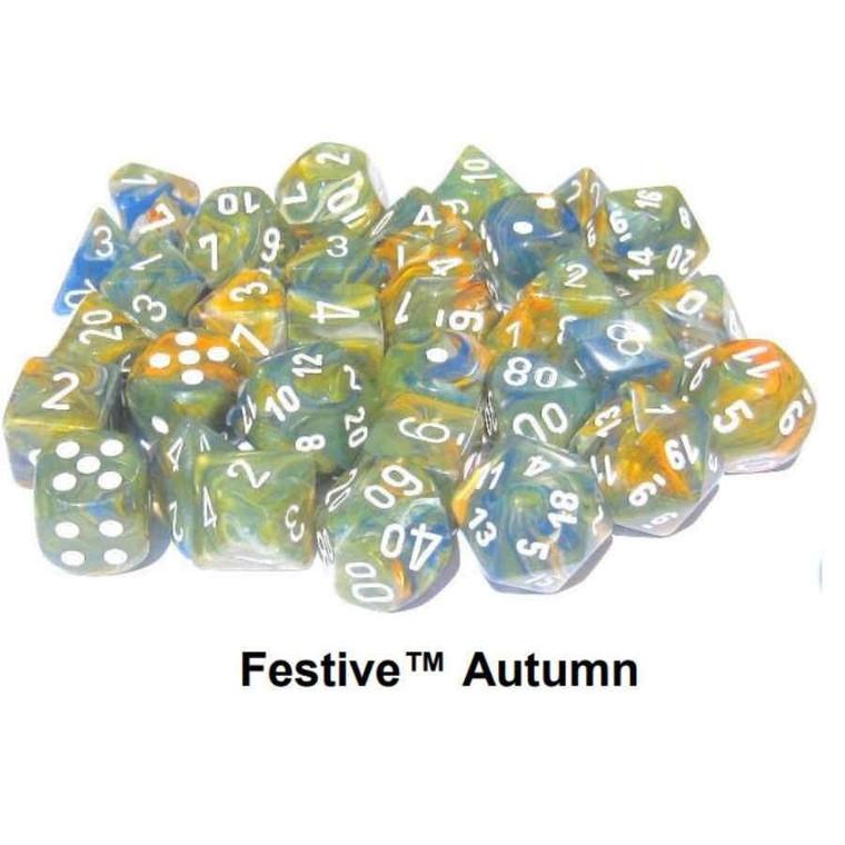 CHX Polyhedral Festive Autumn w/White 30001